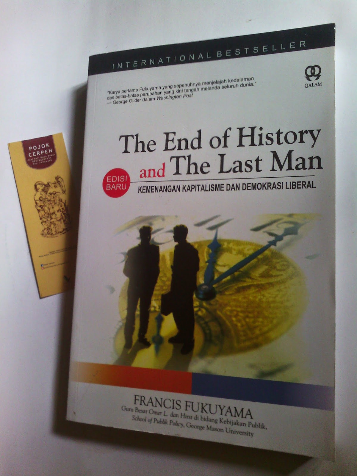 the end of history essay by francis fukuyama - in his essay, the end of history, fukuyama discusses the rise and fall of various ideologies throughout history, and the prevalence of western liberal - francis fukuyama and samuel huntington are two of the most controversial and influential modern political theorists of our times.